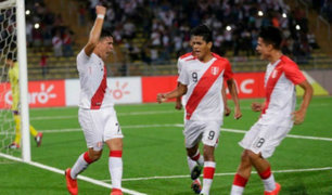Perú vs Bolivia: 'blanquirroja' ganó 3 -1 por el Sudamericano Sub 17
