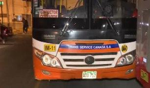 La Molina: niña de 5 años es atropellada por bus