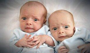 ¡Insólito! Mujer da a luz a gemelos de padres diferentes