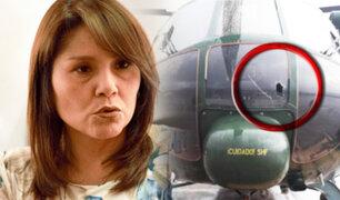 Las Bambas: Ejecutivo insistirá con diálogo a pesar de ataque a helicóptero que llevaba a ministros