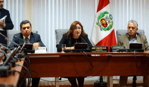 Janet Sánchez: Comisión de Ética recibe cada semana entre dos a tres denuncias nuevas