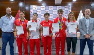 Juegos Suramericanos de Playa: IPD homenajea a medallistas por su histórica actuación