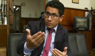 Amado Enco: procurador anticorrupción renunció a su cargo esta tarde