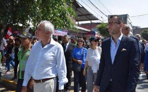 Embajadores europeos recorrieron distrito de San Juan de Lurigancho