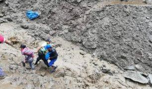 Junín: un muerto y dos desaparecidos deja huaico en Chanchamayo