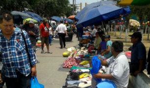 San Luis: avenida Arriola permanece limpia de informalidad