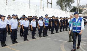 Alcalde Muñoz aumenta contingente de serenos en Lima