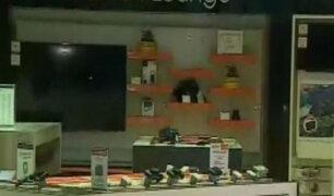Analizan cámaras de tienda de electrodomésticos robada en San Borja