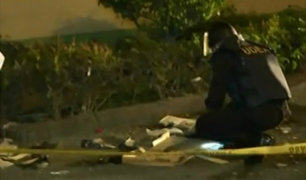 Lince: detonan artefacto explosivo en frontis de local nocturno