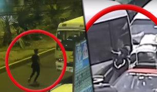 """Asaltos en la Carretera Central: """"Raqueteros"""" atacan con total violencia"""
