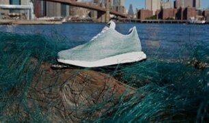 Adidas produce zapatillas con plástico retirado del océano