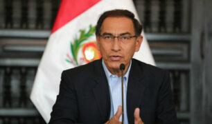 Datum: aprobación de presidente Vizcarra descendió a 49%