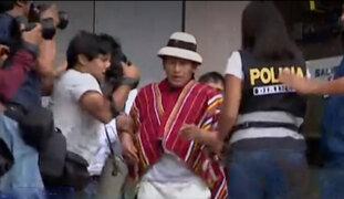 Las Bambas: liberan a dirigente Gregorio Rojas