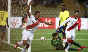 Sudamericano Sub -17: Perú venció 2-0 a Ecuador