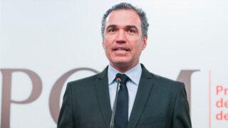 Premier Del Solar se pronunció tras liberación de dirigente Gregorio Rojas