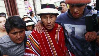 Gregorio Rojas asegura que comunidad de Fuerabamba no es antiminera