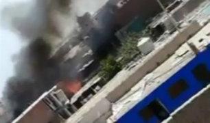 Huacho: balón de gas explota durante incendio en vivienda