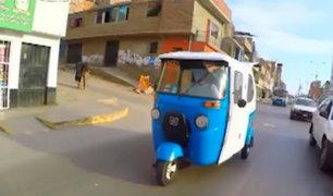 Surco: vecinos en contra de circulación de mototaxis informales
