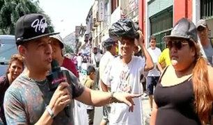 Batalla de Gallos: transeúntes se dicen sus verdades rapeando
