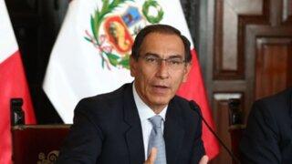 IEP: respaldo a gestión del presidente Martín Vizcarra cae al 44%