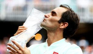 Roger Federer obtuvo título 101 y se consagró campeón del Masters 1000
