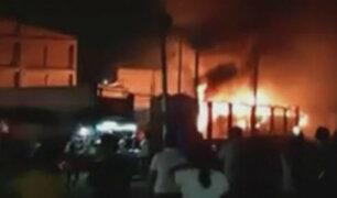 Fiori: al menos 20 muertos en incendio de bus interprovincial