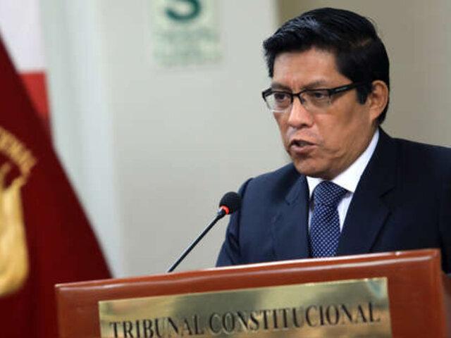 Vicente Zeballos: proceso de extradición de Toledo podría tardar 1 año