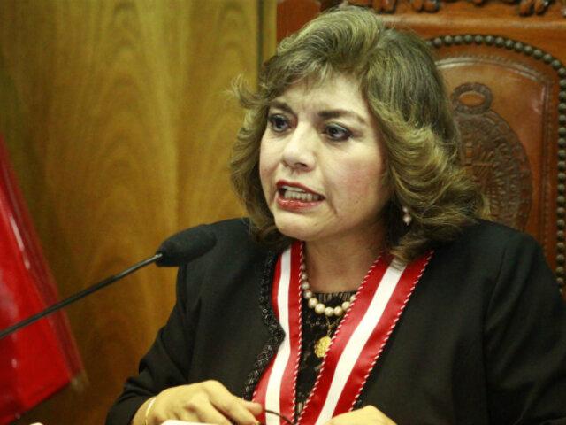 Ávalos sobre reunión con Vizcarra: Caso Villanueva no fue tema de conversación