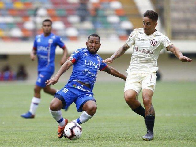 Liga 1: Universitario vence 1-0 a Carlos Mannucci en el estadio Monumental
