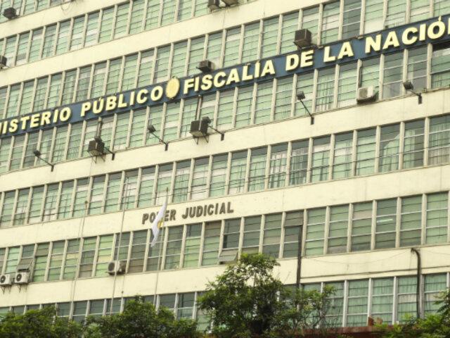 Fiscalía: disponen 4 y 10 años de cárcel para ex trabajadores de la región Callao