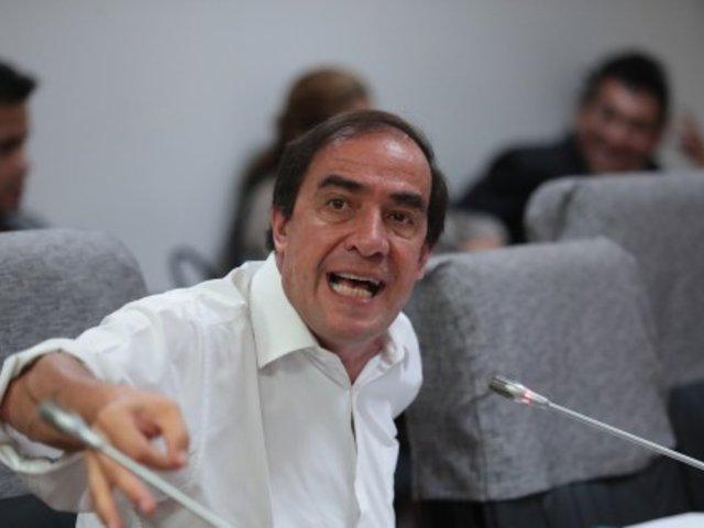 Yonhy Lescano: PJ dicta medidas de protección para periodista que denunció acoso sexual
