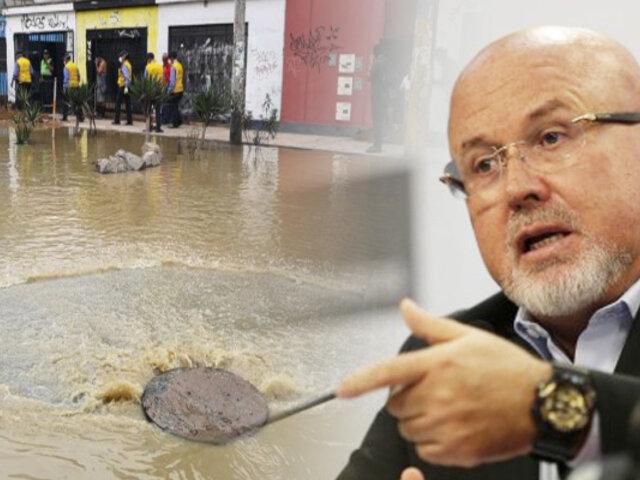 En dos días se tendrá resultados de investigación del aniego en San Juan de Lurigancho