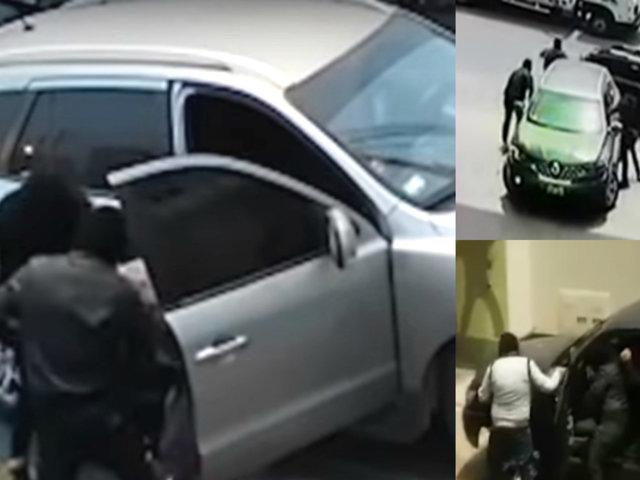 Delincuentes armados usan vehículos con lunas polarizadas para cometer asaltos
