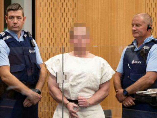 Nueva Zelanda: cadena perpetua para asesino de 51 en atentados a mezquitas