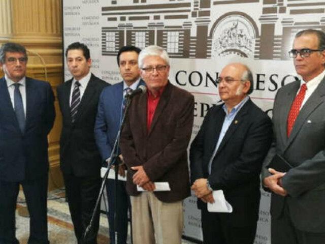 Congreso: inscriben a Concertación Parlamentaria como nueva bancada