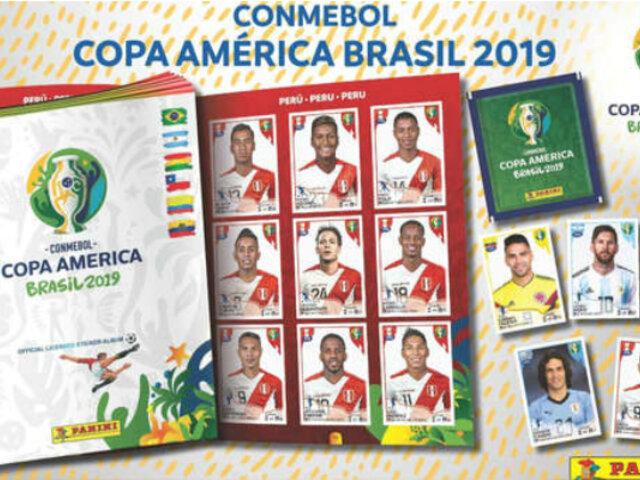 Copa América 2019: Panini presentó álbum oficial