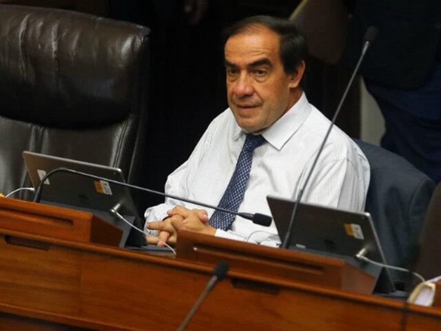 Yonhy Lescano: Comisión de Ética aprueba informe que recomienda suspenderlo por 120 días