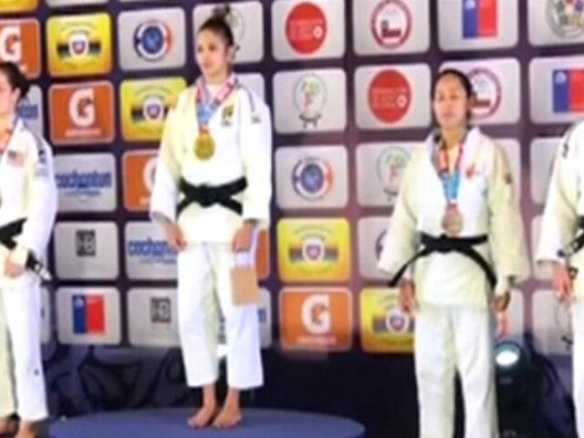 Perú logra dos medallas en Open Panamericano de Judo en Chile