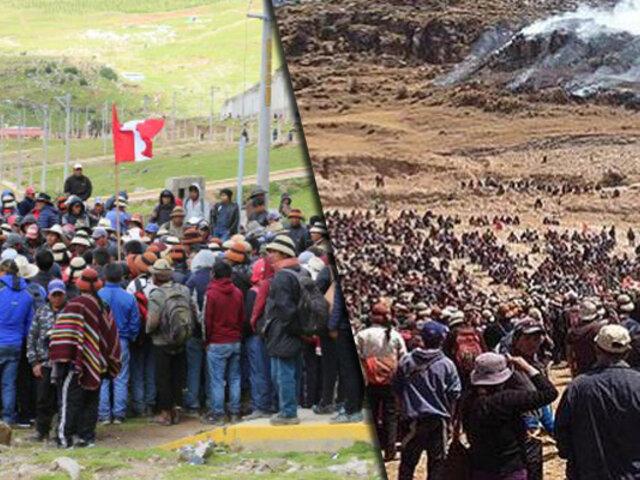 Las Bambas: decretan estado de emergencia en el distrito de Challhuahuacho