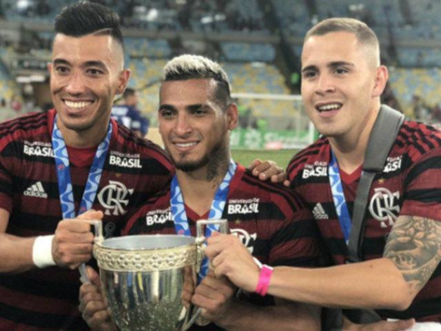 Peruanos en el extranjero: Miguel Trauco campeona con Flamengo