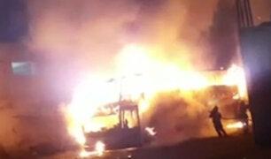 Incendio en Fiori: suspenderán licencia a 'Sajy Bus' mientras duren investigaciones