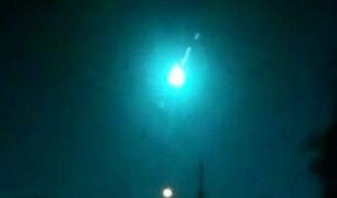 Estados Unidos: caída de meteorito sorprendió a residentes de Florida