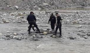 Áncash: hallan cadáver de niña de cinco años en el río Santa
