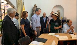 Se iniciaron conversaciones para acabar conflicto minero en Las Bambas