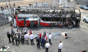 Edmer Trujillo: buses de la empresa Sajy Bus no circularán por 90 días