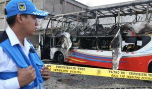 Tragedia en Fiori: cuatro menores entres las víctimas por incendio de bus