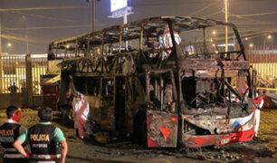 Tragedia en Fiori: establecimiento donde se incendió bus tenía habilitación técnica