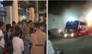Morgue de Lima: retiran cuerpos de fallecidos del bus interprovincial