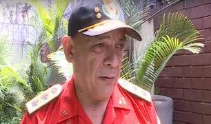 Mario Casaretto: rostro de los bomberos internado en UCI por COVID-19