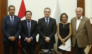Acción Popular sostuvo reunión con Salvador del Solar